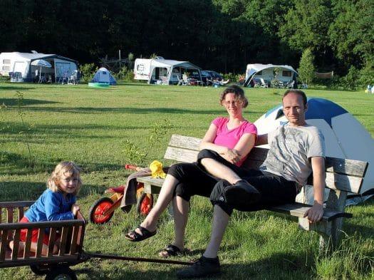 Camping in Drenthe, Nederland