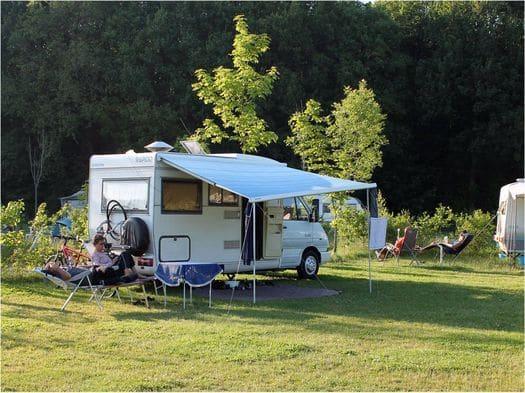 kamperen in de herfst