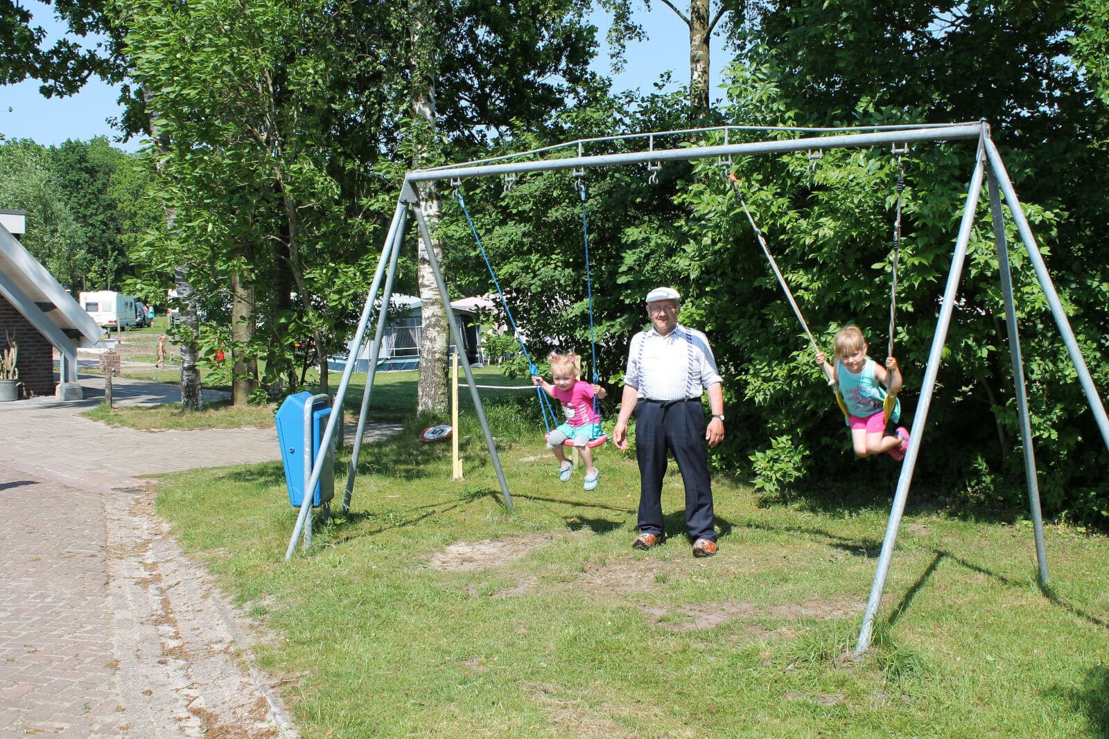 Kindercamping in Drenthe