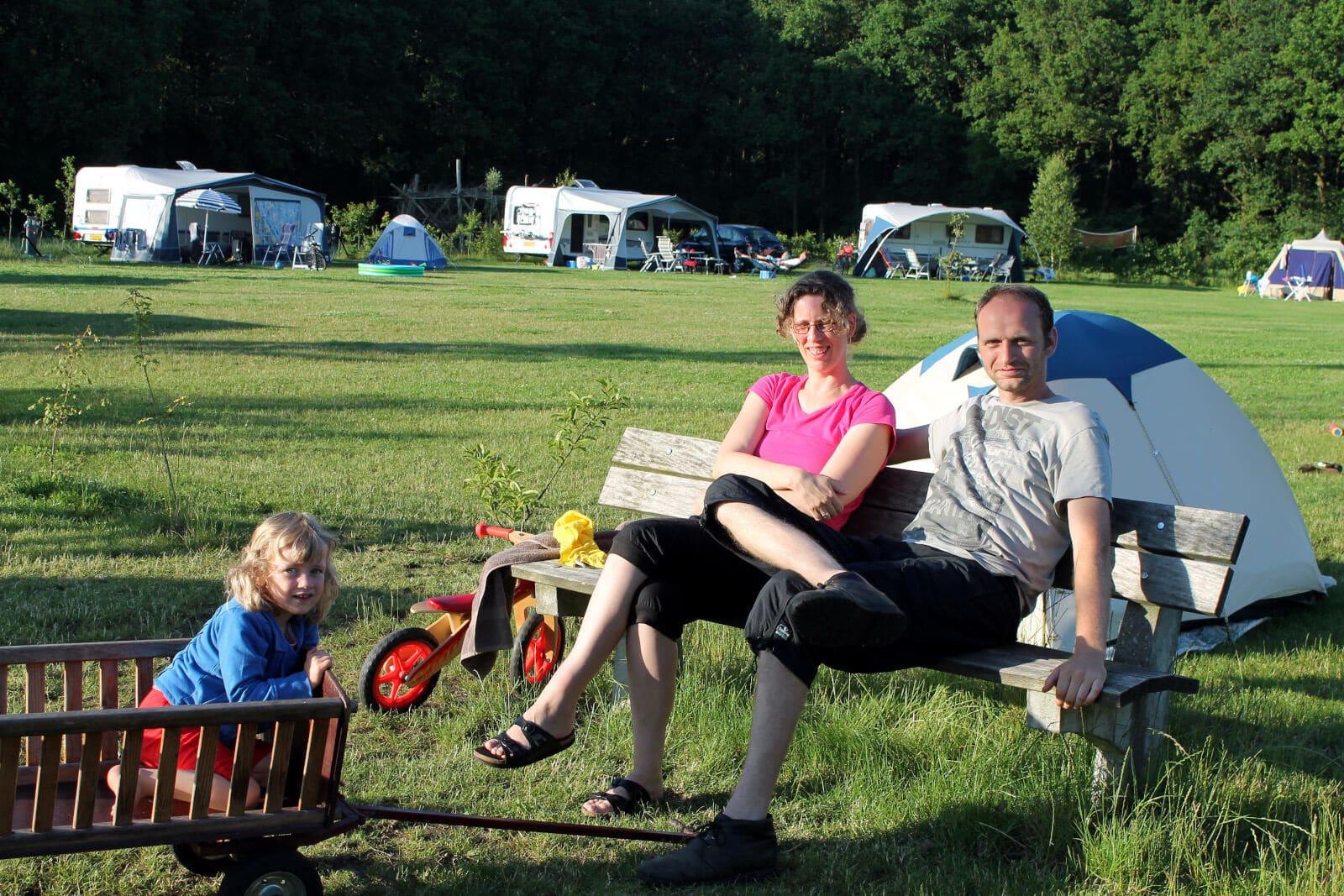kinderen kamperen Drenthe