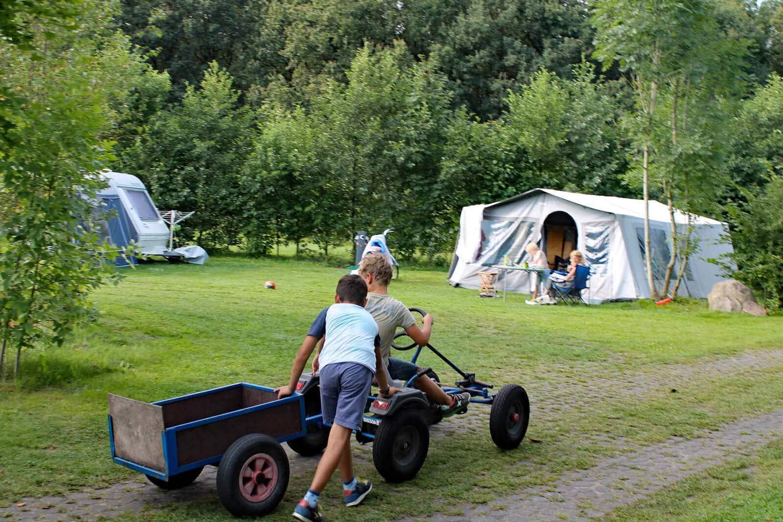 Kindvriendelijke camping Tikvah Drenthe