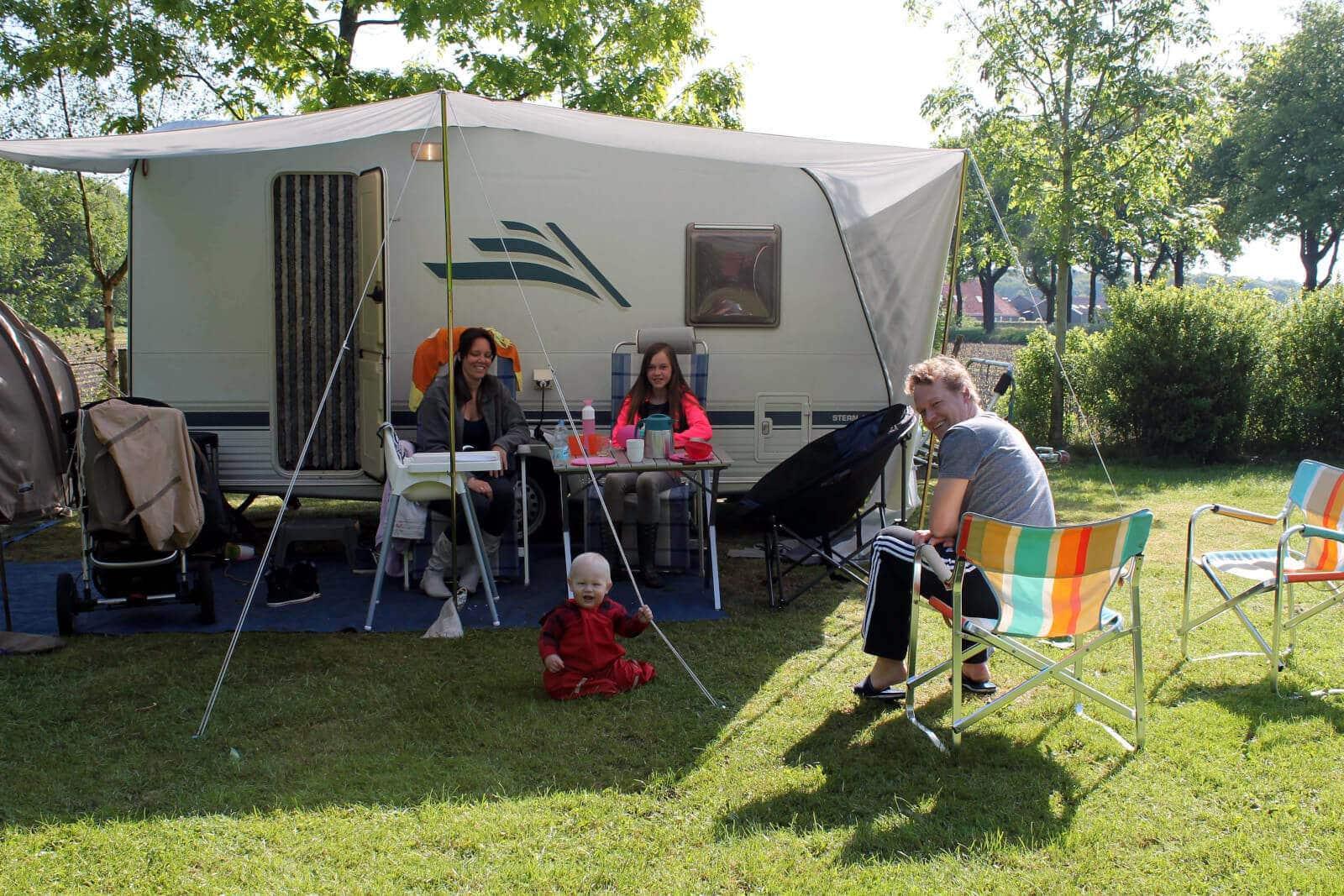 kindvriendelijk kamperen in Drenthe
