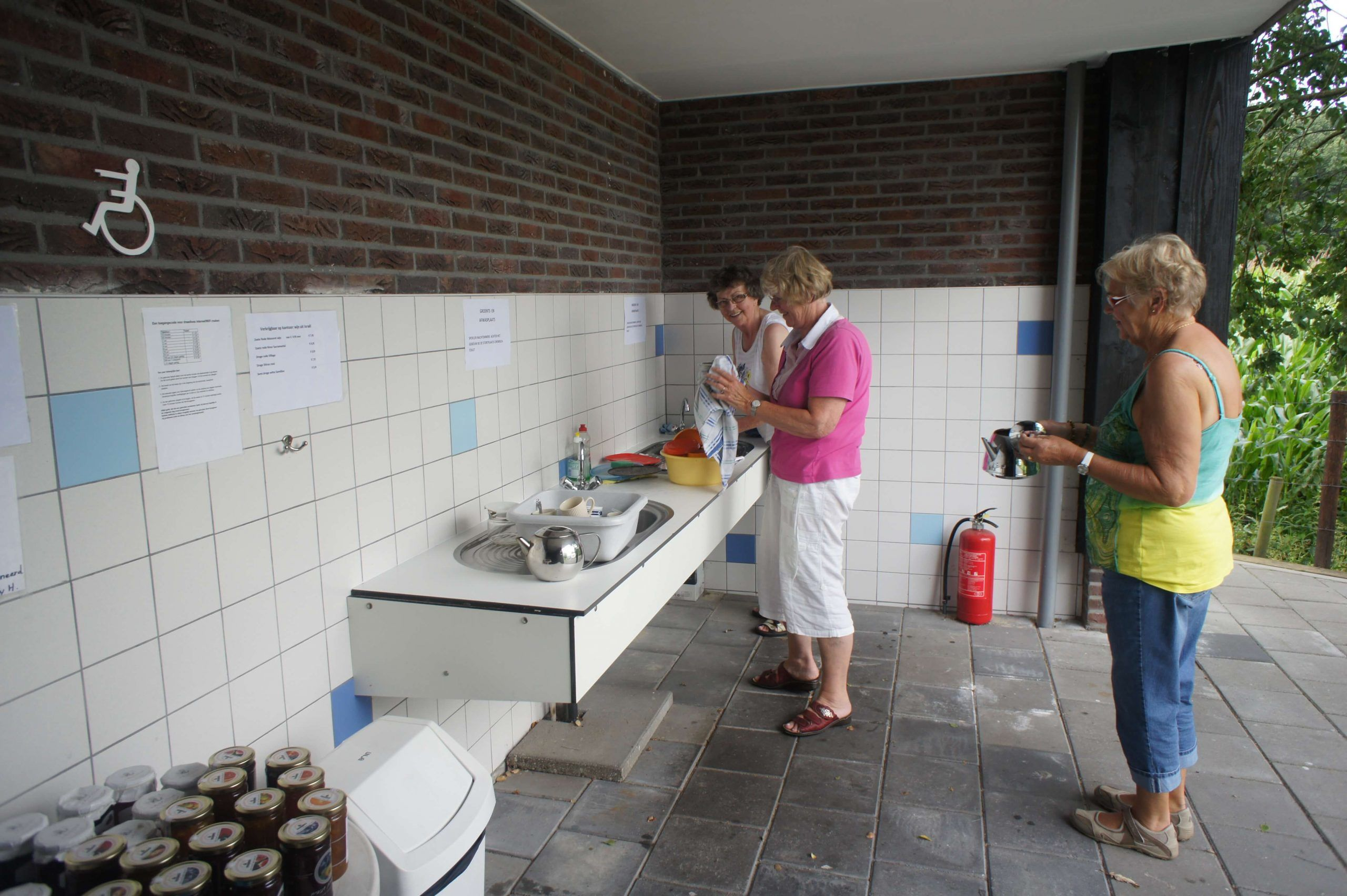 sanitair Drenthe camping