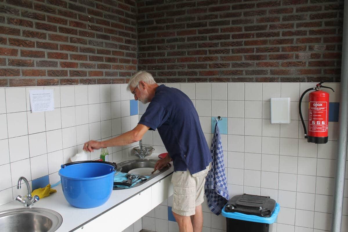 sanitair camping Drenthe
